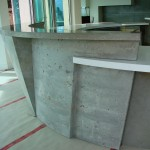 Keith Crewe Concrete Desk