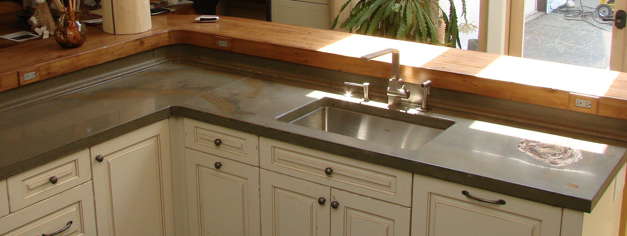 Keith Crewe Concrete Countertop