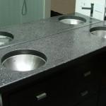 Keith Crewe Concrete Bathroom Countertop