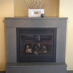 Keith Crewe Concrete Fireplace