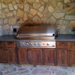 Keith Crewe Concrete BBQ
